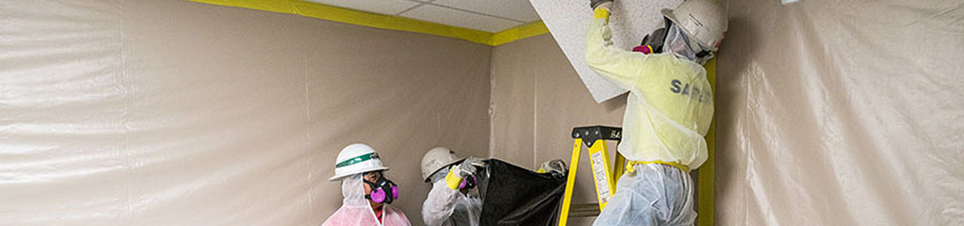 How to safely remove asbestos